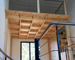 MAISON V – Mezzanine et aménagements